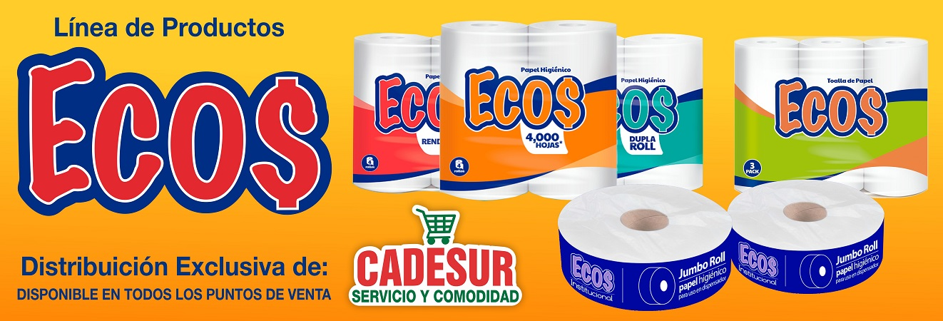 10 Papel Higienico ECOS